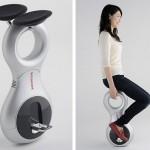 Honda U3-X, il monociclo elettrico per muoversi in città