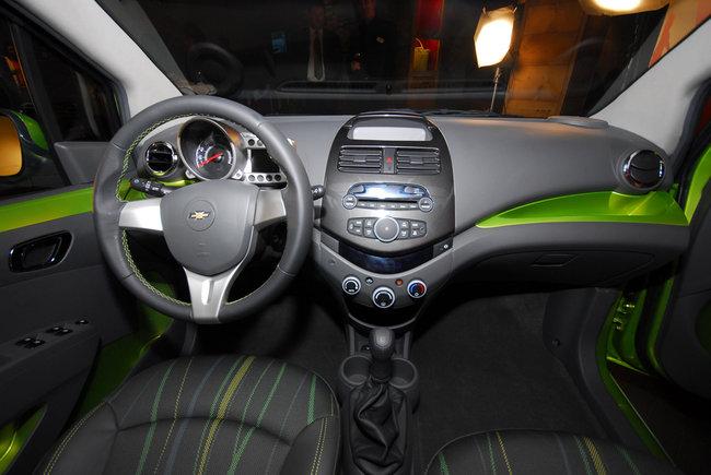 Chevrolet Spark - interno