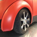 Blowcar: l'auto gonfiabile presentata al Motor Show 2011