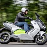 BMW Motorrad C evolution, scooter elettrico ad elevata autonomia