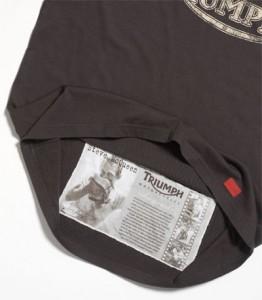 Particolare della Mcqueen t-shirt