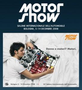 Simpatica la campagna pubbilicitaria realizzata per il MotorShow 2008